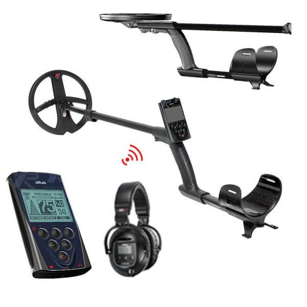 Металотърсач XP DEUS V5 X35 с безжични слушалки SW5 и дистанционно
