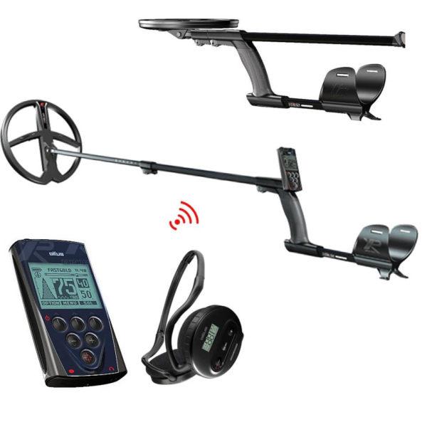 Металотърсач XP DEUS V5 с бобина 28см + безжични слушалки и дистанционно