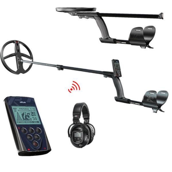 Металотърсач XP DEUS V5 с бобина 28см + безжични слушалки SW5 и дистанционно