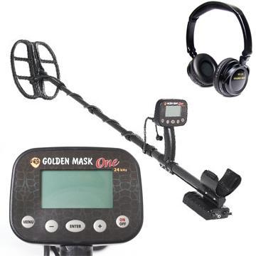 Металдетектор Golden Mask One 24 kHz с безжични слушалки